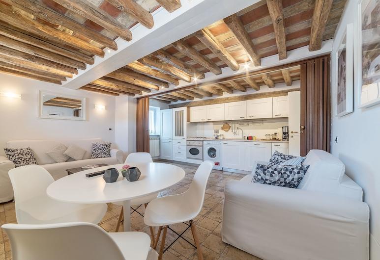 Campo de' Fiori Amazing Terrace, Róma, apartman, 1 hálószobával, Étkezés a szobában