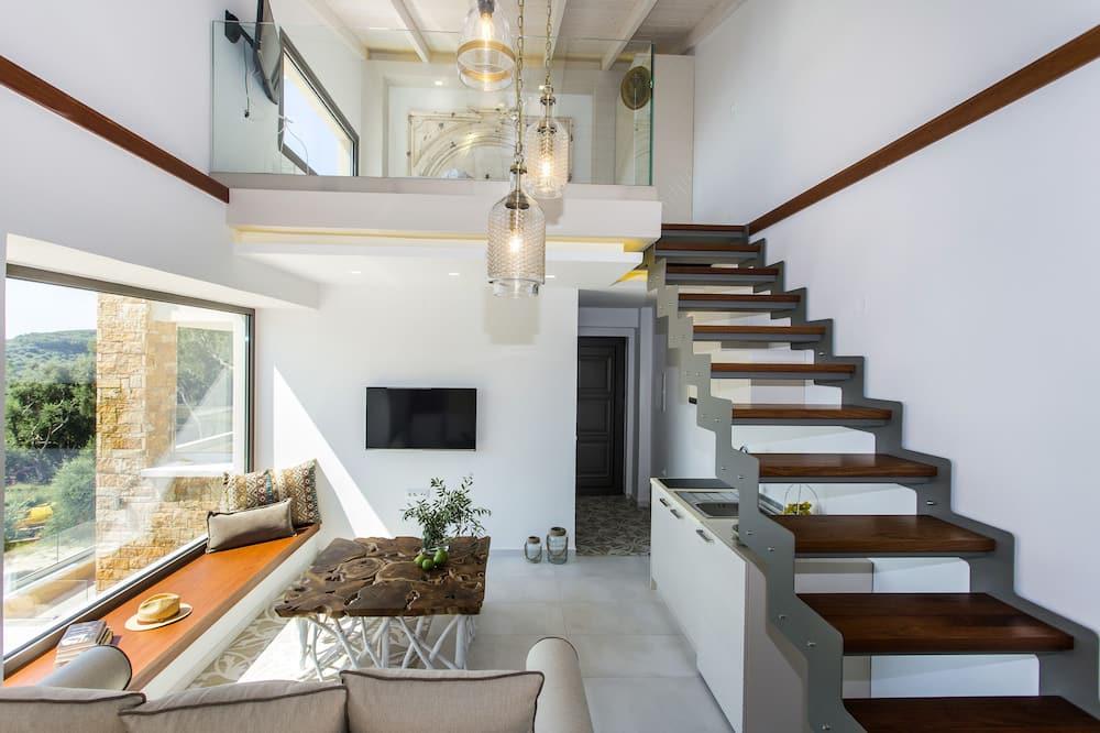 Loft (1 - 4 adults) - Living Area