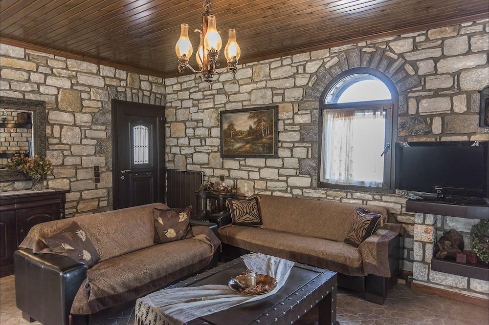 Traditional Villa, Multiple Beds, Smoking - Living Room
