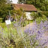 Classic-Doppelzimmer - Blick auf den Garten
