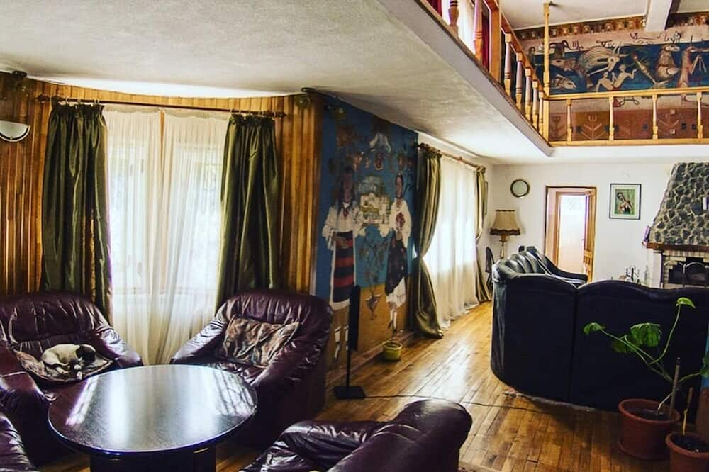 Villa Familiar, Varanda (9 rooms/ 8 bathrooms) - Sala de Estar