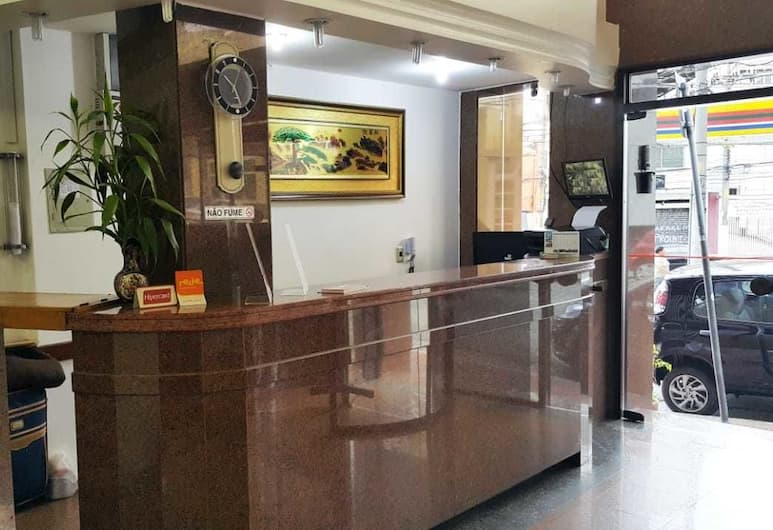 Free Palace Hotel, San Paulas, Registratūra
