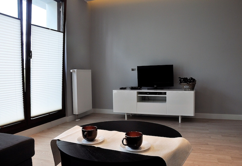 Prudentia Apartments Moko Residence, Warszawa, Lägenhet Comfort - 1 sovrum, Vardagsrum
