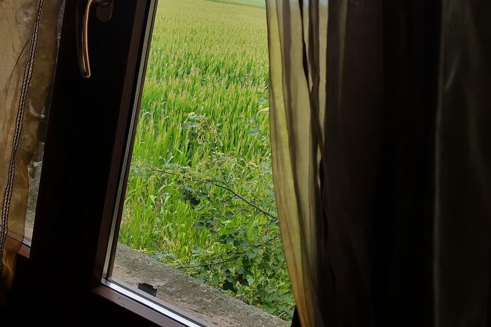 Tweepersoonskamer - Uitzicht vanaf kamer
