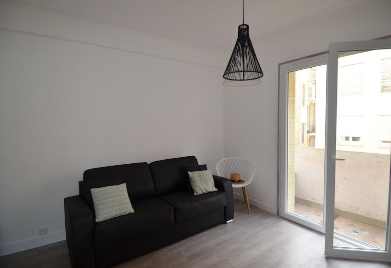 Modern studio dowtown in Nice near facilities district Les Musiciens , Nizza, City-Studio, 1 Schlafzimmer, Wohnzimmer