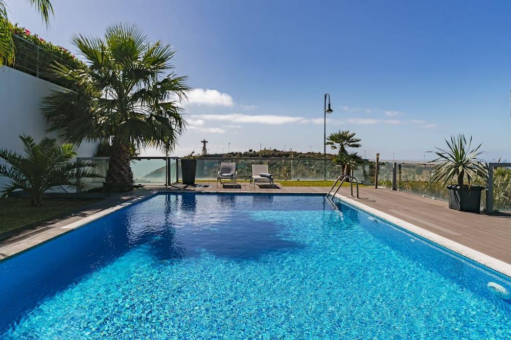 Vila, 3 spálne, súkromný bazén, výhľad na oceán - Výhľad z izby