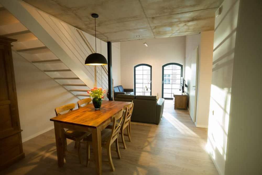 Apartamentai (10, excl. 40 € cleaning fee) - Svetainės zona