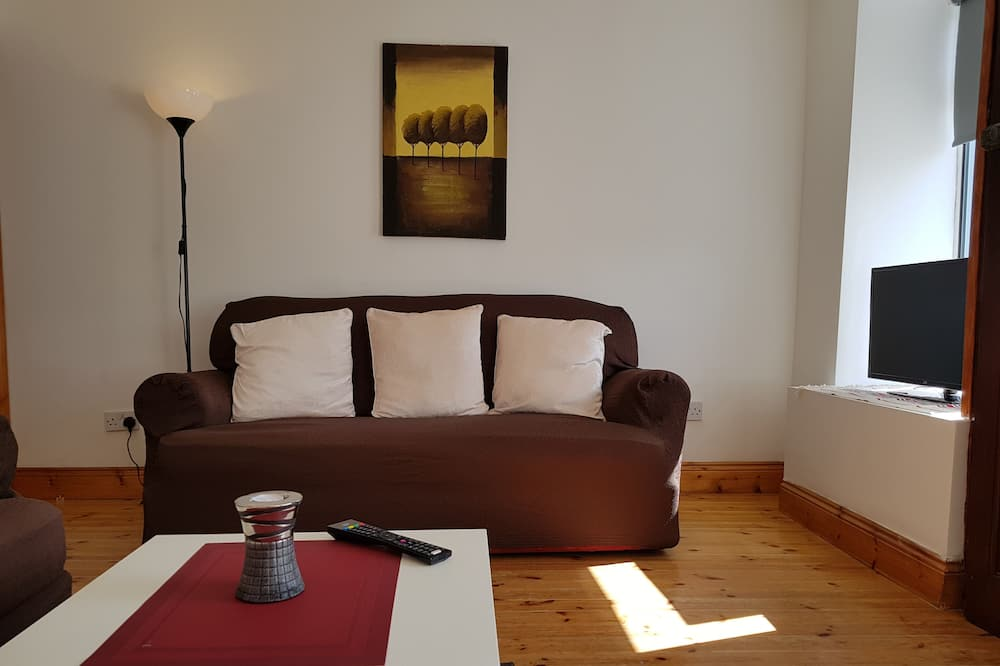 Apartament typu Deluxe, 3 sypialnie - Salon