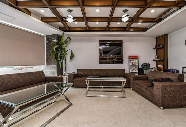 Capital O 444 Hotel Venus, New Delhi, Zitruimte lobby