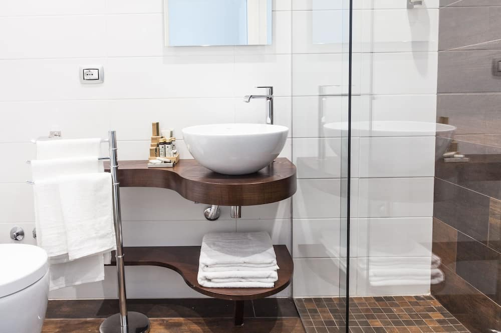三人房, 陽台, 海景 (Ischia) - 浴室