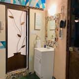 スタンダード ルーム ダブルベッド 2 台 - バスルーム
