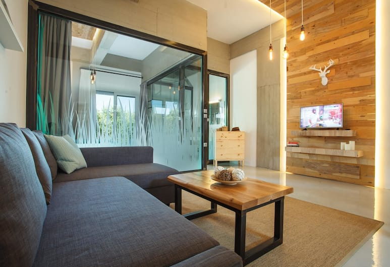 Chania Urban Living, Chania, Design Apartment, 1 Bedroom, Patio, Corner, Room