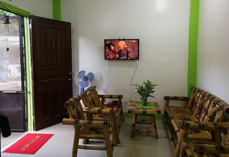 Kaleb Hostel, Puerto Princesa, Lobby társalgó