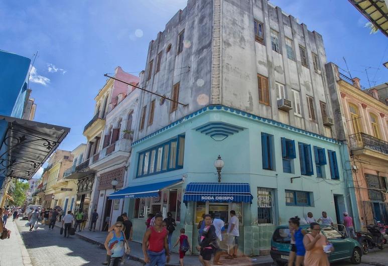 Casa Penthouse Vista Obispo, Havana, Framhlið gististaðar