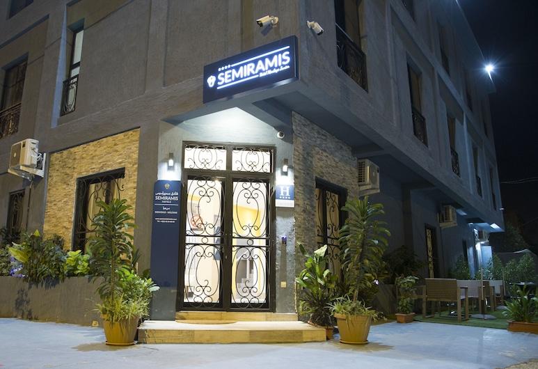 Semiramis Hotel HMJ, Nouakchott, Hotel Front – Evening/Night