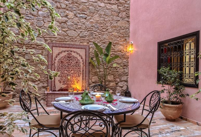 Riad Leila Marrakech, Marrakech, Terasz/udvar
