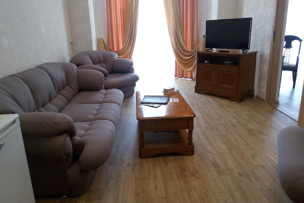 Suite estudio empresarial, 1 habitación - Sala de estar