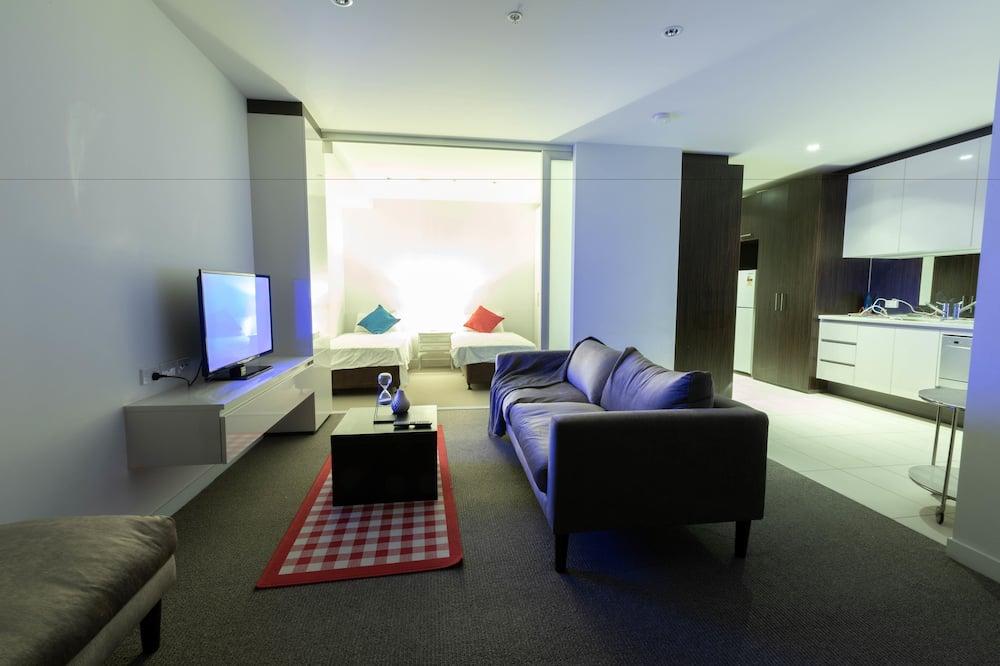 City Apartment, 2 Bedrooms, 2 Bathrooms - Living Area