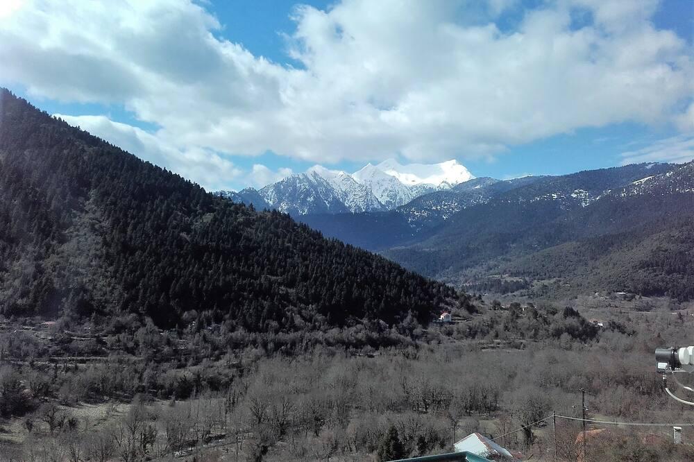 Rodinný pokoj, balkon, výhled na hory - Výhled na hory