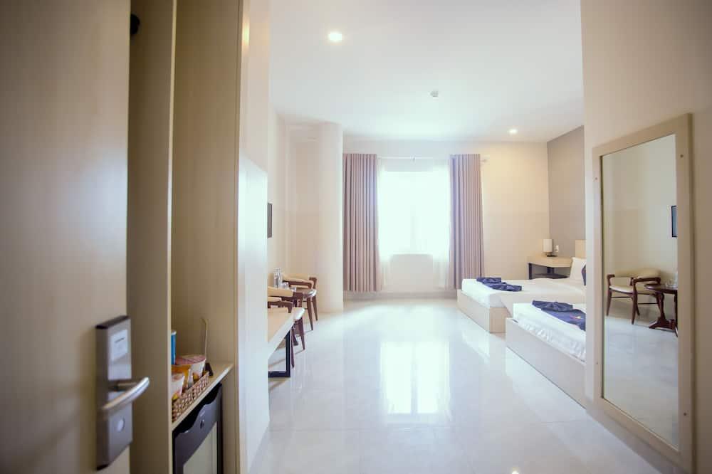 Suite Studio Familiale, 2 grands lits - Chambre