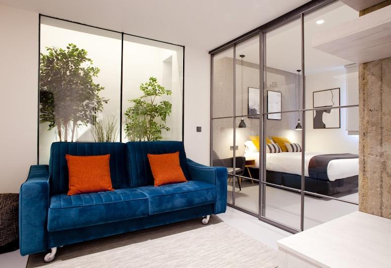 Bilbao Centric Apartments, Μπιλμπάο, Superior Διαμέρισμα, 2 Υπνοδωμάτια, Καθιστικό