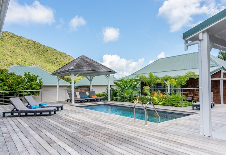Villa Wild Blue (3 bedrooms), St. Barthelemy, Pool