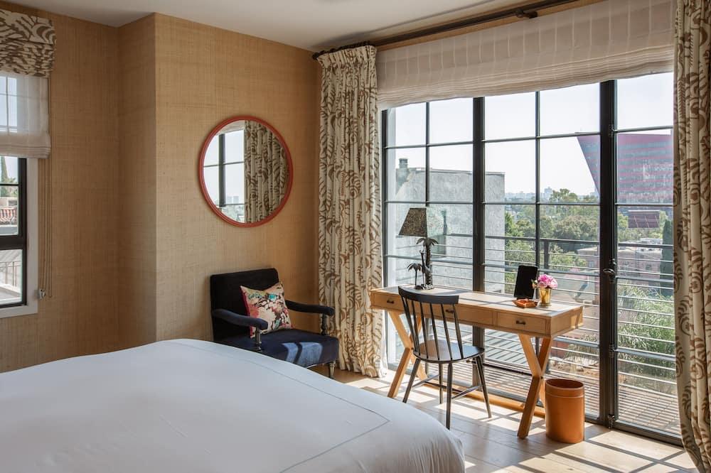 Grand kamer, 1 kingsize bed - Uitzicht op stad