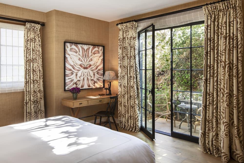 Premium kamer, 1 kingsize bed, niet-roken - Uitzicht op tuin