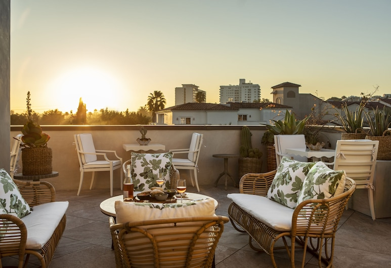 Hotel 850 SVB West Hollywood at Beverly Hills, West Hollywood, Sonnenterrasse