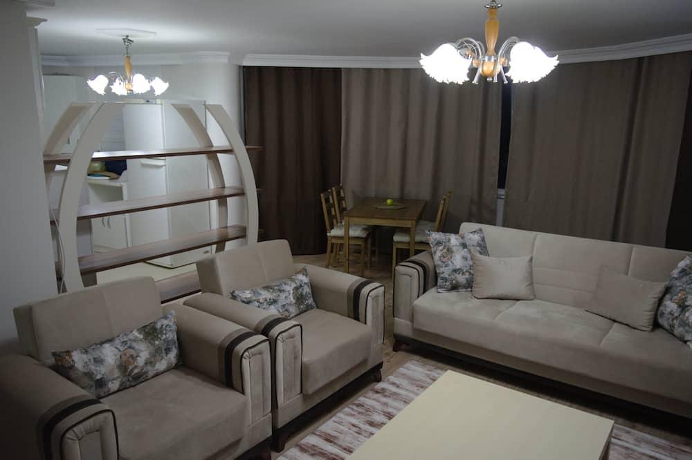 Comfort Apartment (No:1) - Living Room