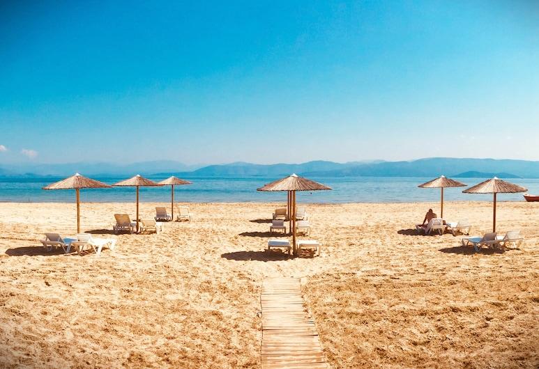Koulouris Beach Hotel, Corfu Town, Pláž