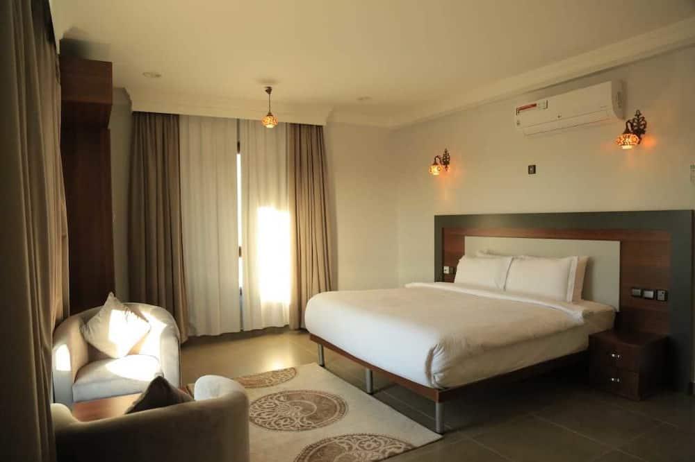 ห้องสวีท, เตียงคิงไซส์ 1 เตียง - ห้องพัก