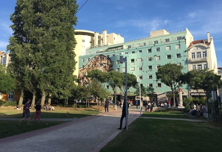 8-bit-building, Lisabon, Pohľad na zariadenie