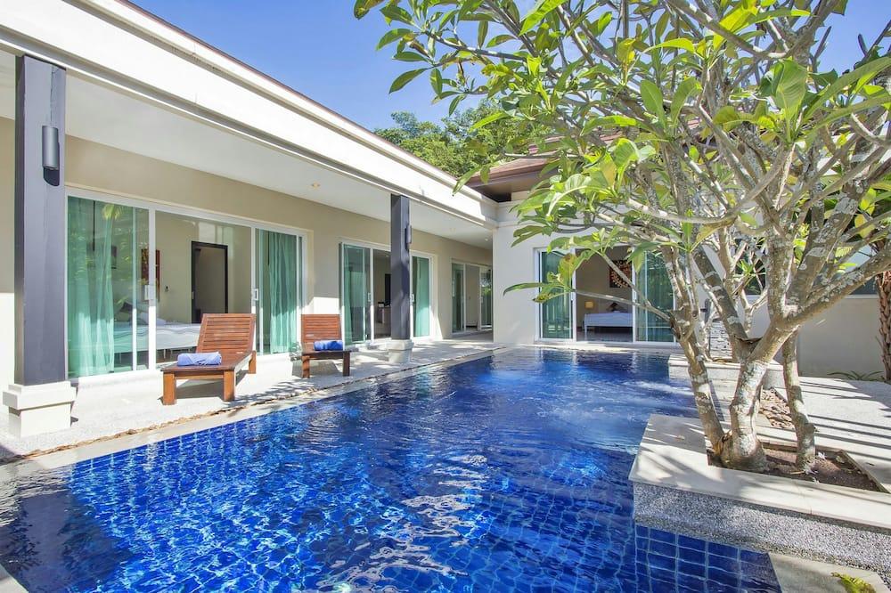 3-Bedroom Villa with Private Pool - Terrasse/Patio