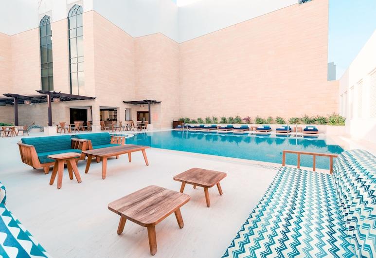 Al Najada Doha Hotel Apartments by Oaks, Doha, Poolbar