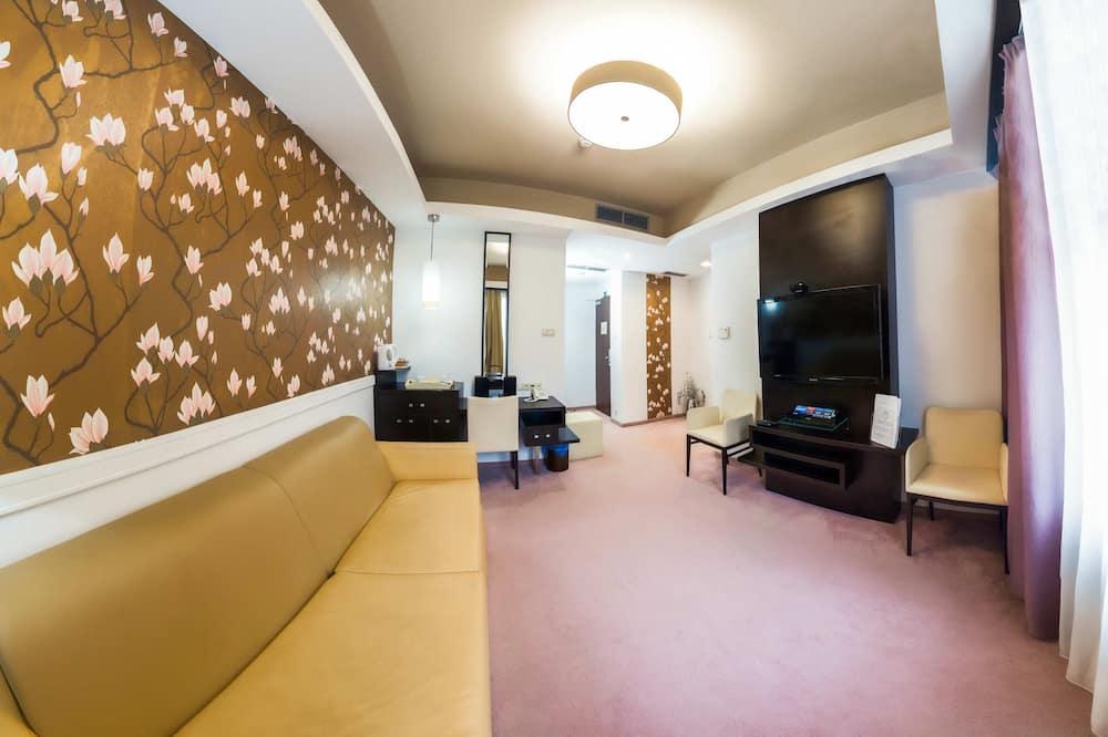 غرفة واسعة - منطقة المعيشة