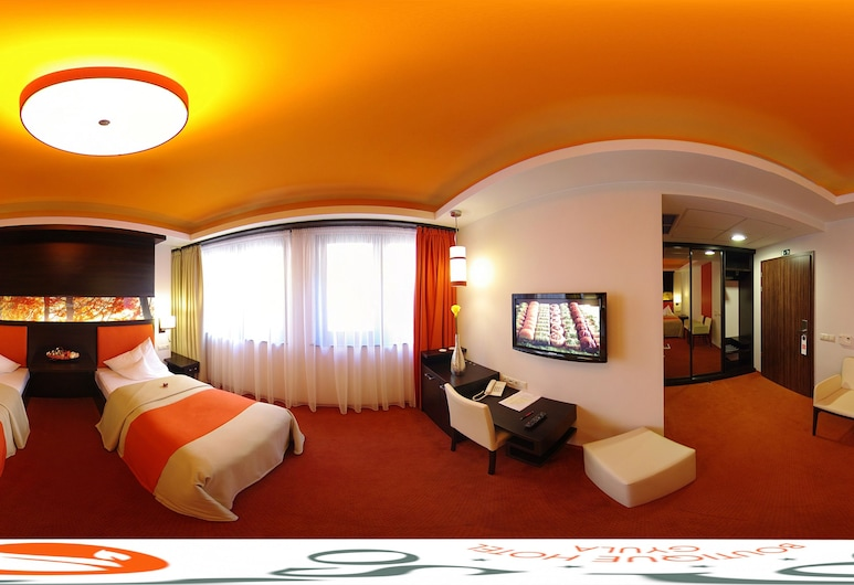Corso Boutique Hotel, Gyula, Standard Double or Twin Room, 1 Bedroom, Courtyard View, Garden Area, Guest Room