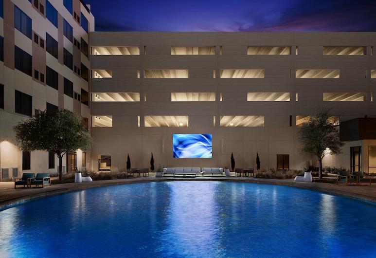 達拉斯艾倫萬豪三角洲酒店, 艾倫, 室外泳池