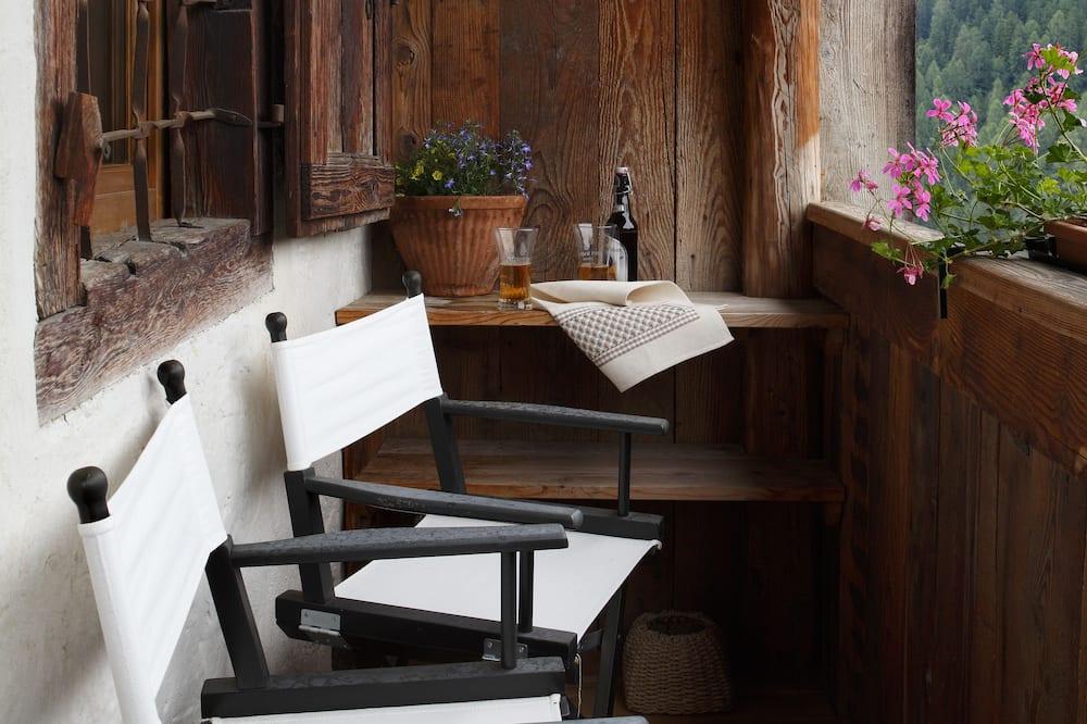 חדר זוגי או טווין, מיטת קווין, ללא עישון (comfort double/twin) - מרפסת