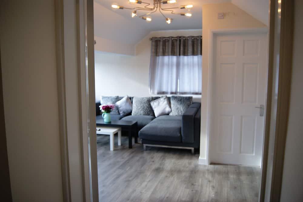 Deluxe appartement, Meerdere bedden, niet-roken - Woonruimte