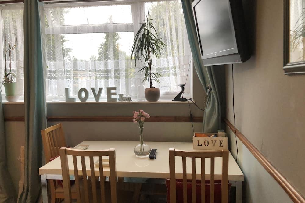 豪華雙人房 - 客房內用餐