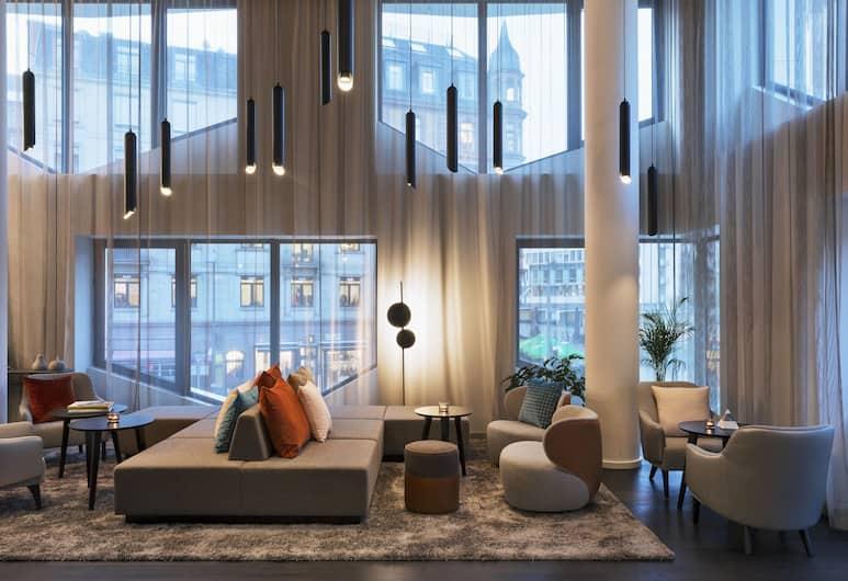 Residence Inn by Marriott Frankfurt City Center, Frankfurt, Sitzecke in der Lobby