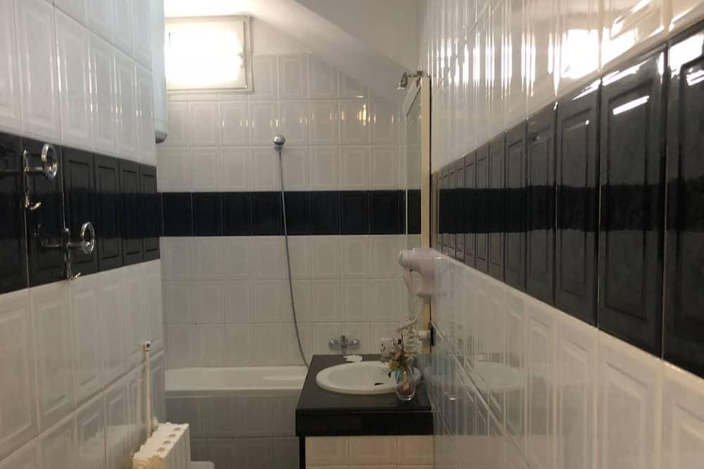Suite, balcon - Salle de bain