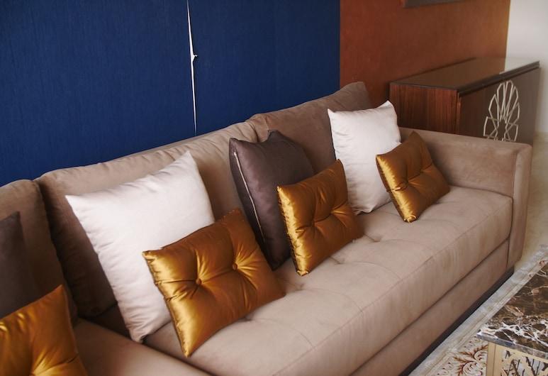 Jnane Gueliz, Marrakech, Apartmán, 2 spálne, terasa, Obývacie priestory