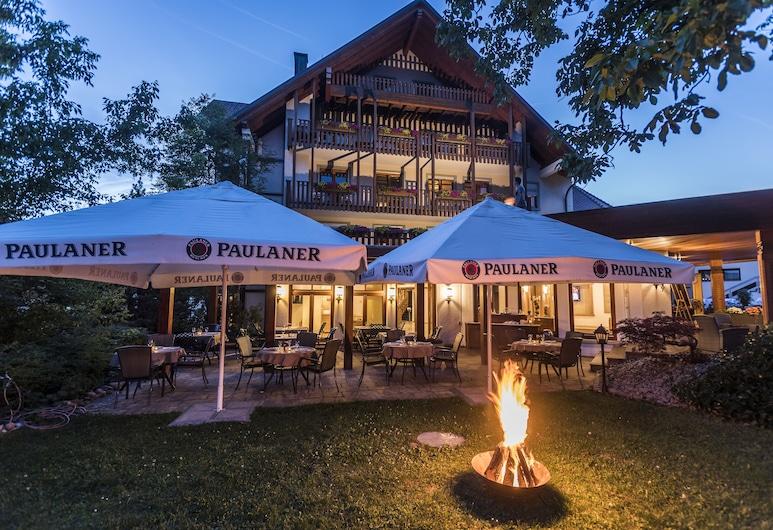 Hotel & Restaurant Becher, Donzdorf, Terrasse/Patio