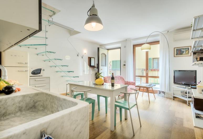 Design San Frediano, Florencija, Apartamentai su patogumais, 2 miegamieji, Svetainės zona