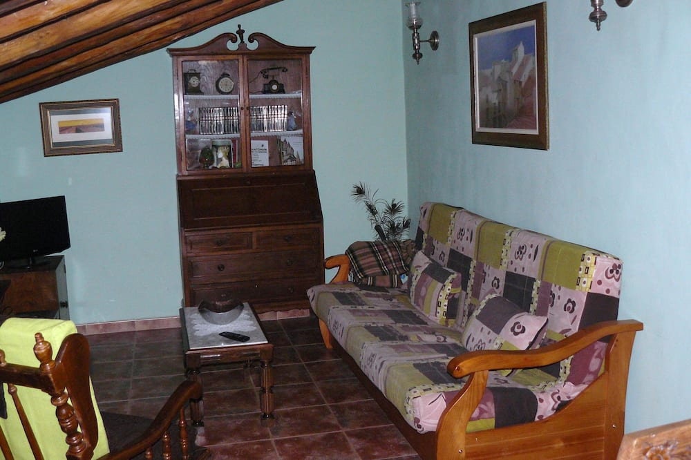 Hus - 2 soveværelser - Stue