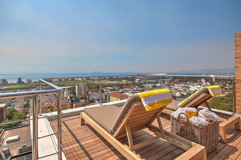 Penthouse de lujo, 2 habitaciones, baño privado - Terraza o patio