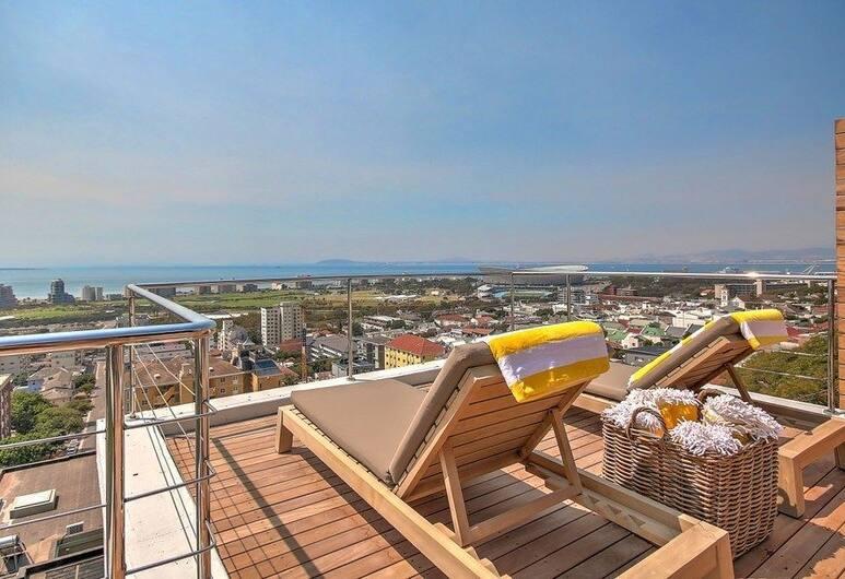 3 Degrees North Penthouse, Le Cap, Penthouse Luxe, 2 chambres, salle de bains attenante, Terrasse/Patio