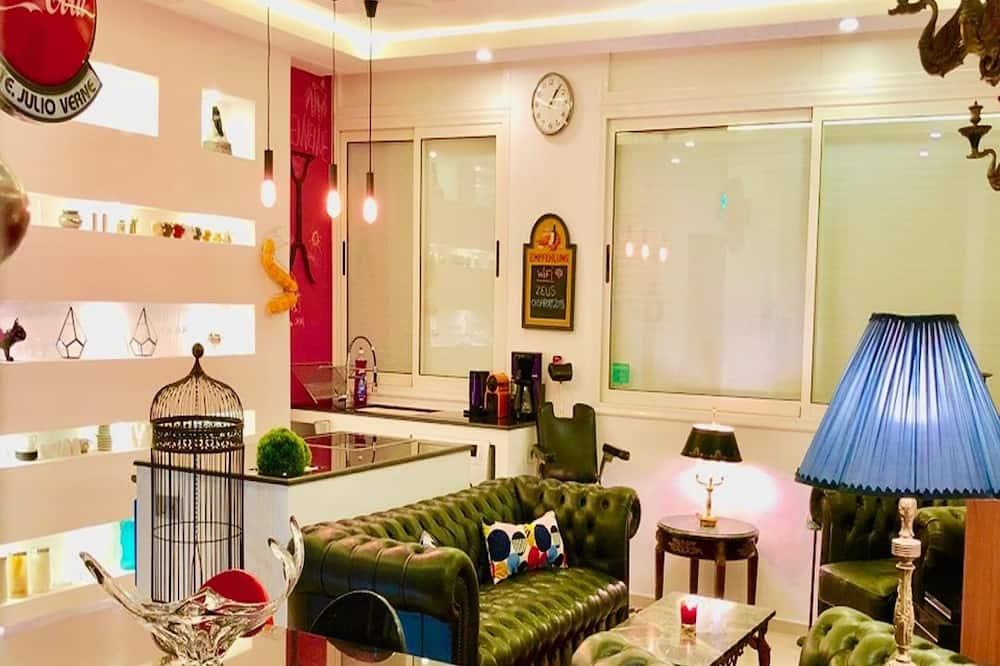 Exclusive Apartment, Ocean View - Living Area